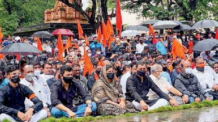 Maharashtra govt positive, but stir by Marathas to continue