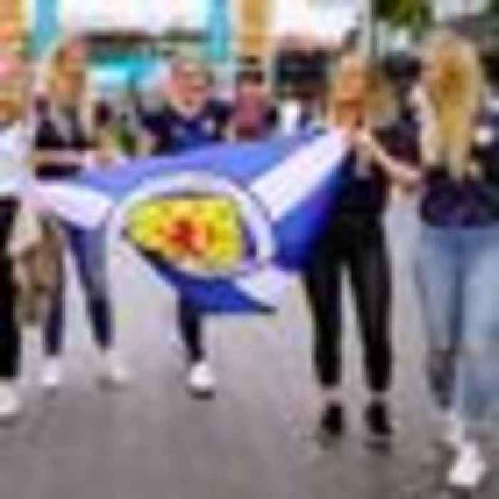 Excitement builds ahead of England-Scotland - as Tartan Army party in London