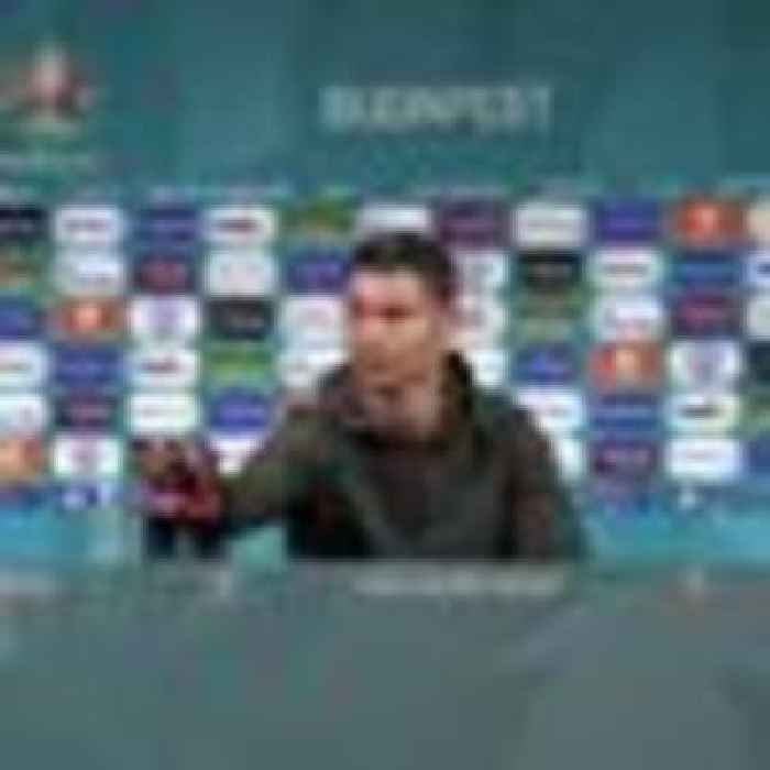 Footballers told to stop moving sponsors' drinks at Euro 2020 news conferences
