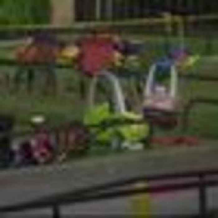 Three children hurt after shooting at one-year-old's birthday party