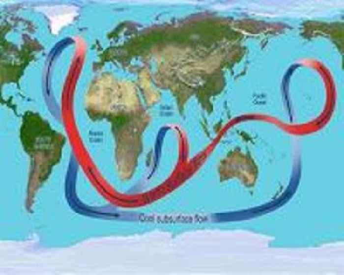 Ocean circulation is key to understanding uncertainties in climate change predictions