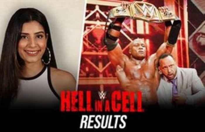 Bobby Lashley Ne Drew McIntyre Ko Harakar The All Mighty Era Jaari Rakha | Hell in a Cell Results: WWE Now India