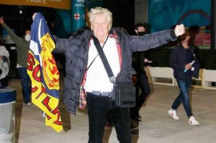 'Make history' Rod Stewart's battle cry for Scotland ahead of Euro crunch clash
