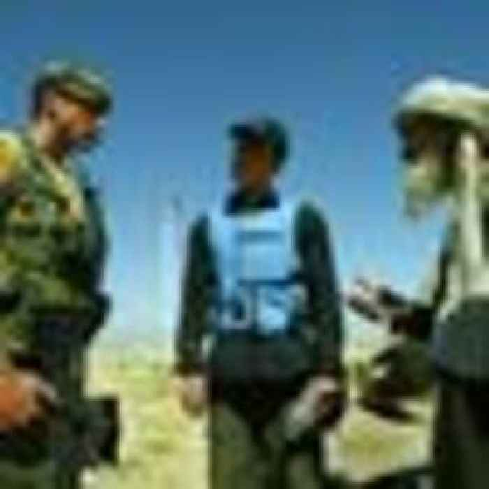 Afghan interpreters who worked with British military land in UK today after fleeing Taliban