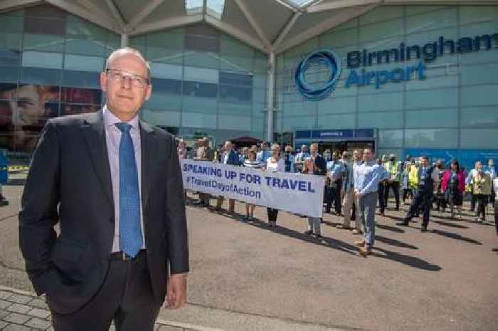 Birmingham Airport boss calls for 14 countries to be added to green list