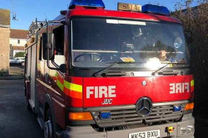 Good neighbour helps family escape Exeter house fire