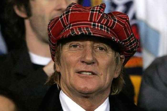 Rod Stewart sends best wishes to Celtic's Bertie Auld after dementia diagnosis