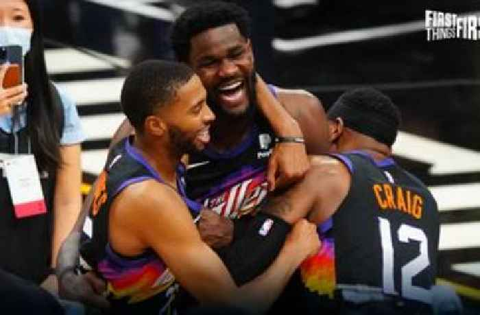 Nick Wright shares his biggest takeaway from Suns' GM 2 win over Clippers   FIRST THINGS FIRST