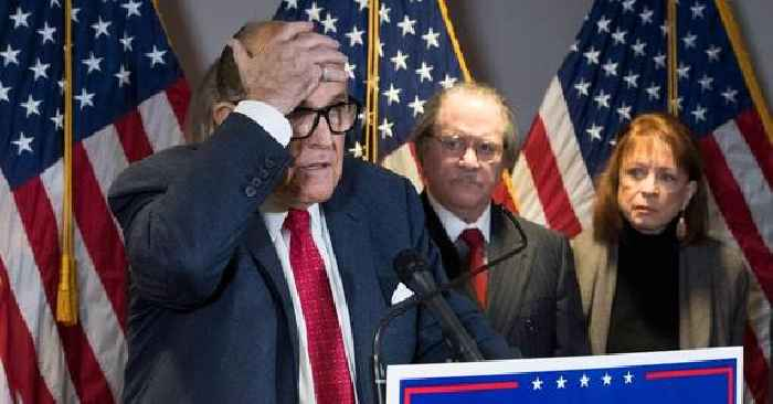 Suspended! Rudy Giuliani No Longer Legally Allowed To Practice Law In New York Due To Trump Election Lies