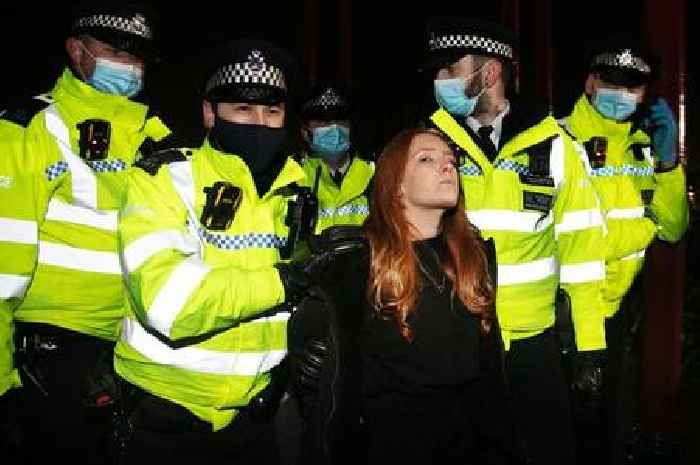 Woman arrested at Sarah Everard vigil prepares for legal action against police