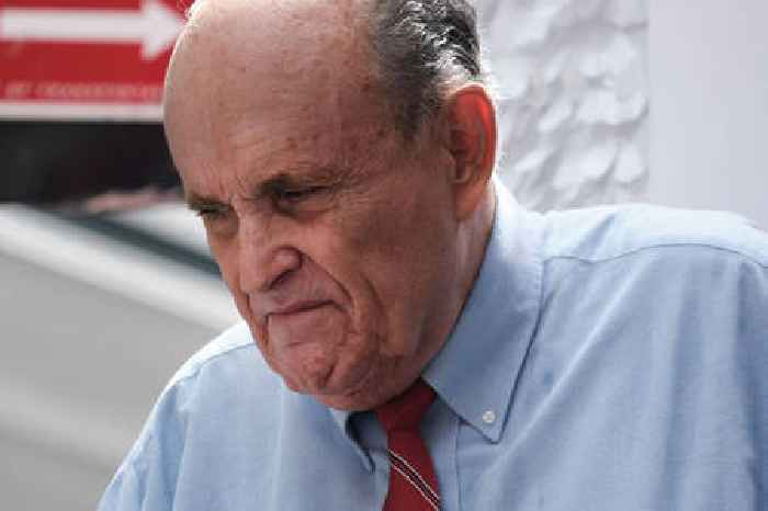 Rudy Giuliani's New York Law License Suspended Over False 2020 Election Claims