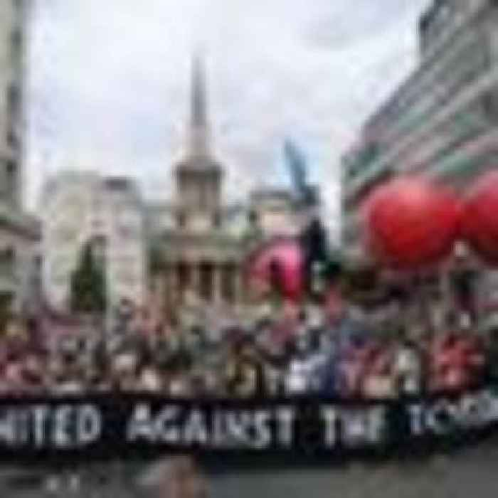 From climate to Palestine, thousands of protesters descended on London with one common goal