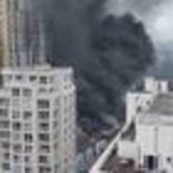 70 firefighters called to 'serious' blaze near Elephant and Castle railway station