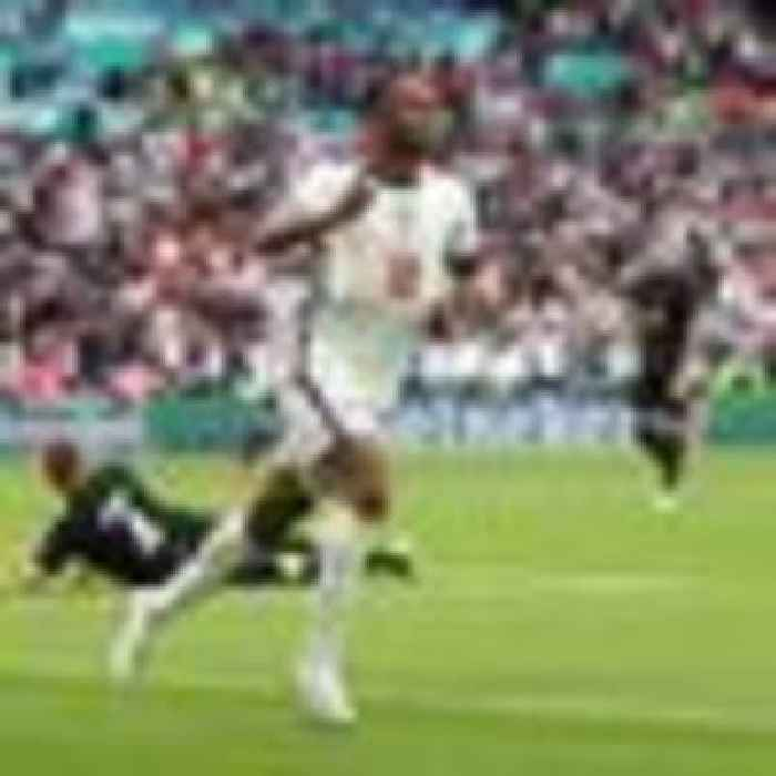 Bedlam at Wembley as England beat Germany 2-0 to reach Euro 2020 quarter-finals
