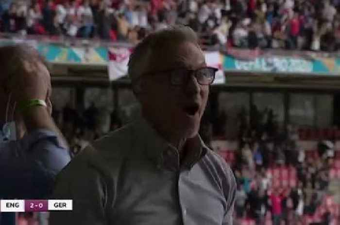 Gary Lineker goes wild as England beat Germany at Euro 2020
