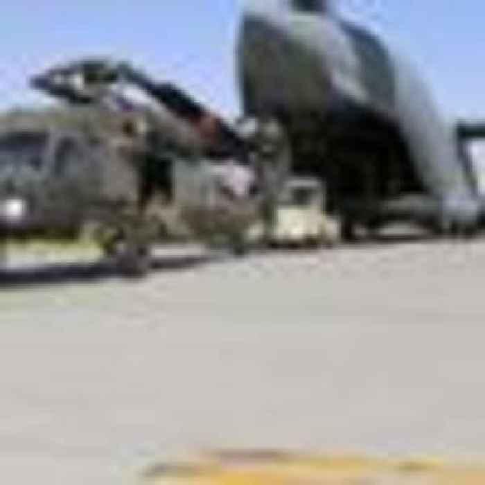 US forces leave main base in Afghanistan - despite fears of looming civil war