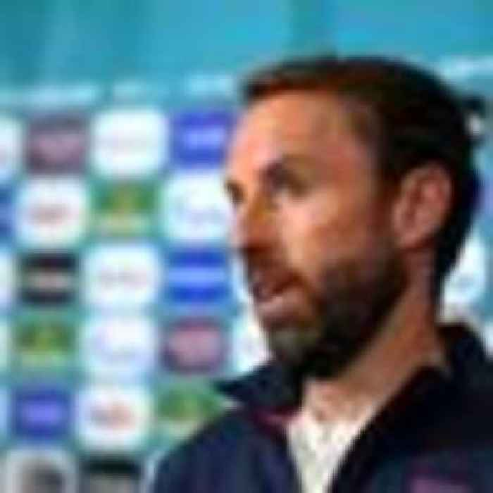 Southgate believes playing away from home is 'probably a good thing' as England prepare to face Ukraine