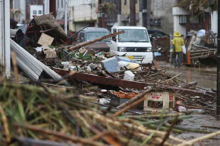 Japan Mudslide Wipes Out Homes in Atami, 20 People Missing and 2 Death Recorded