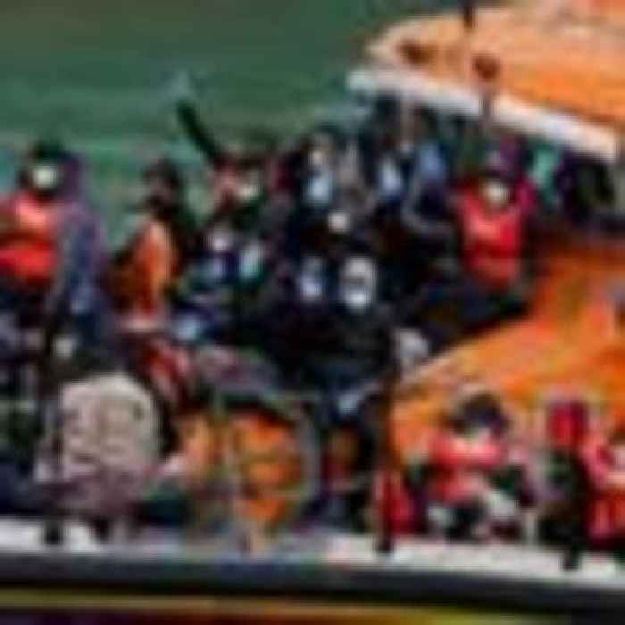 Up to 200 migrants intercepted trying to cross the channel, Sky News understands