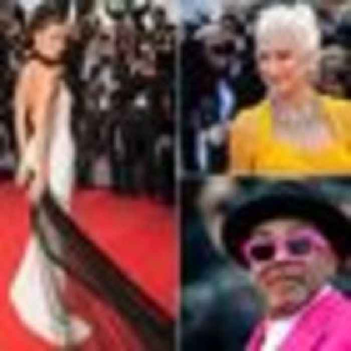 The Cannes glamour returns! Stars hit the festival's red carpet for first time in two years