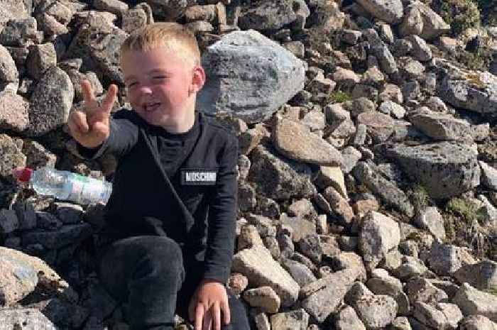 Hikers watch on in amazement as tiny Scots toddler conquers Ben Nevis
