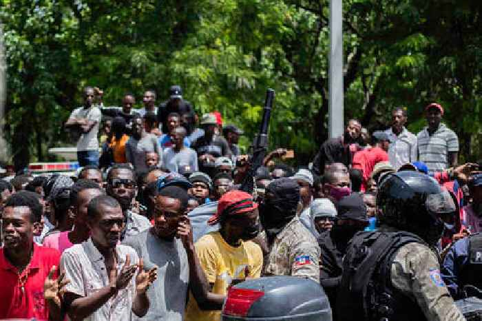 Haitians React After Police Arrest 2 Haitian Americans Following the Assassination of the Haitian's President