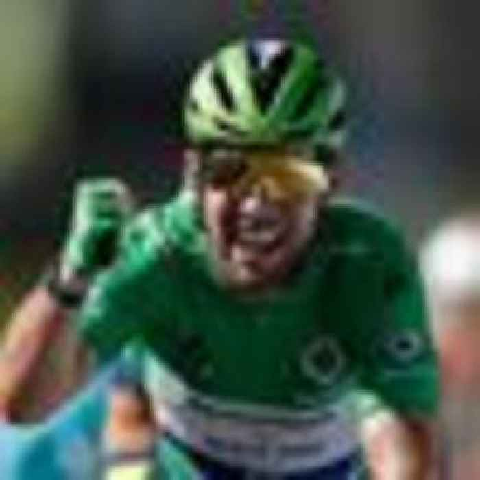 Briton Mark Cavendish equals Eddy Merckx's Tour de France all-time record number of stage wins