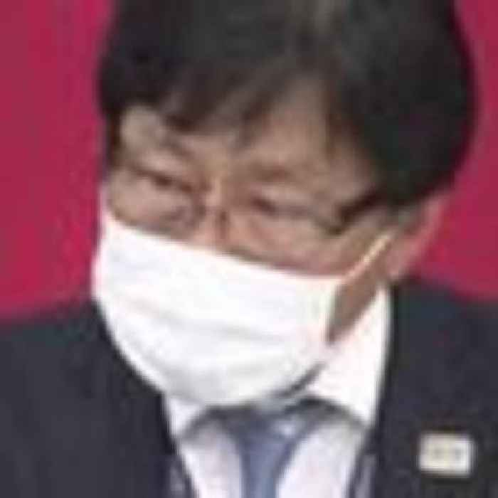 Tokyo Olympics ticket sales boss tears up during apology over spectator ban