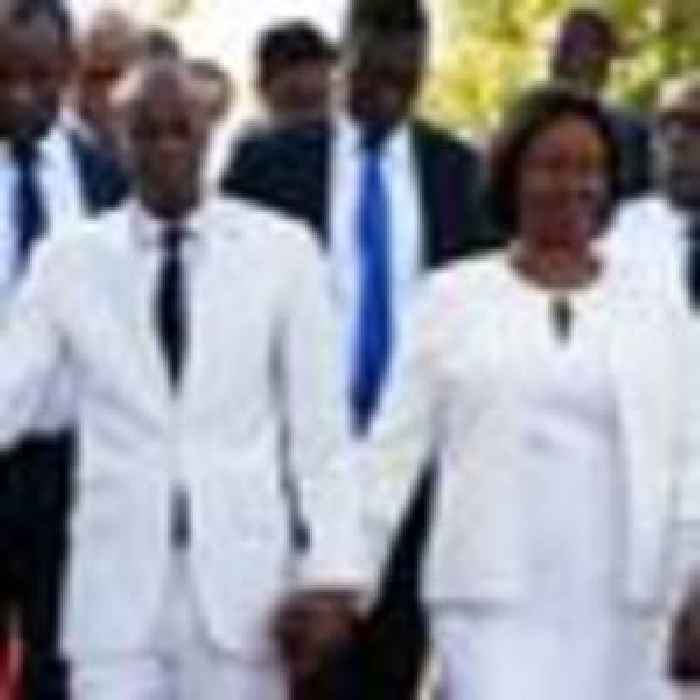 'The mercenaries pelted him with bullets': Wife of assassinated Haitian president speaks from hospital