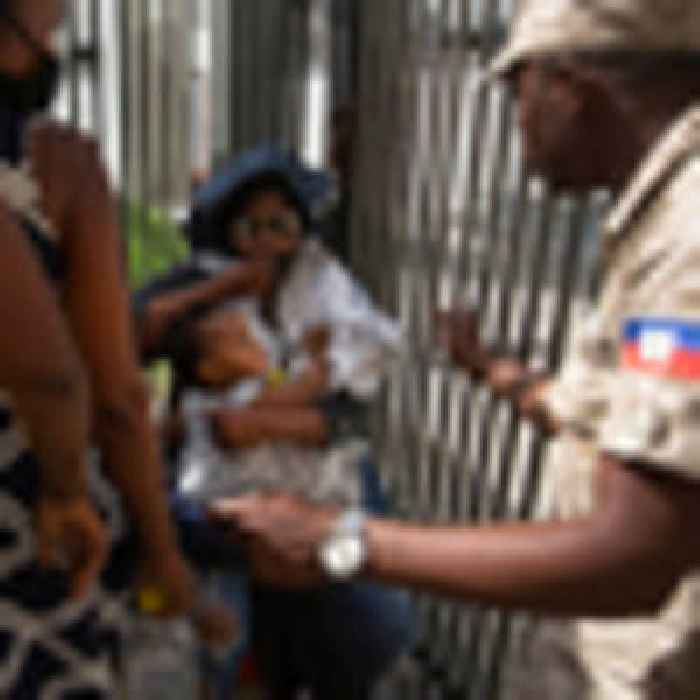 Haiti gang leader Jimmy 'Barbecue' Cherizier calls supporters onto the streets