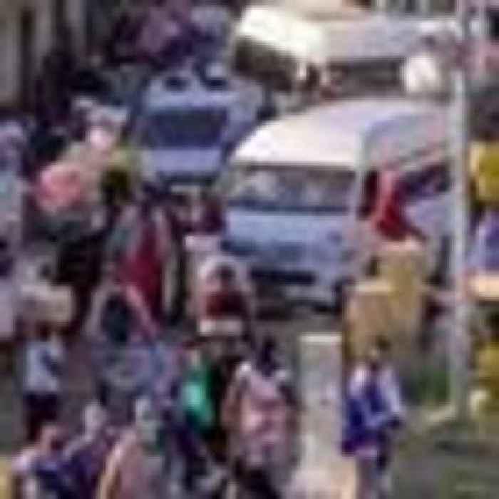 Sky correspondent describes 'absolute chaos' as food warehouses ransacked in Durban