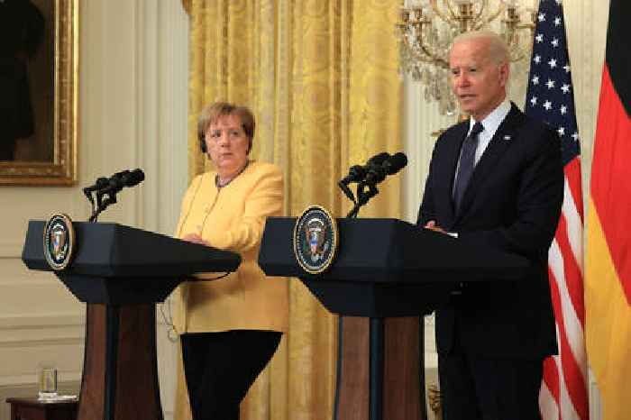 US-Germany Relations on the Line as Biden, Merkel Discuss Key Global Issues [UPDATE]