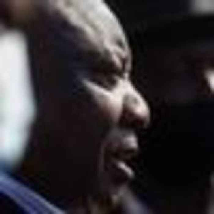 SA president says deadly unrest designed to 'destroy democracy' on visit to site of looting