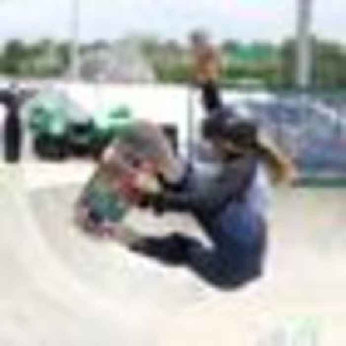 Skateboarder Sky Brown has the world at her feet - aged just 13 she is set to make Olympic history