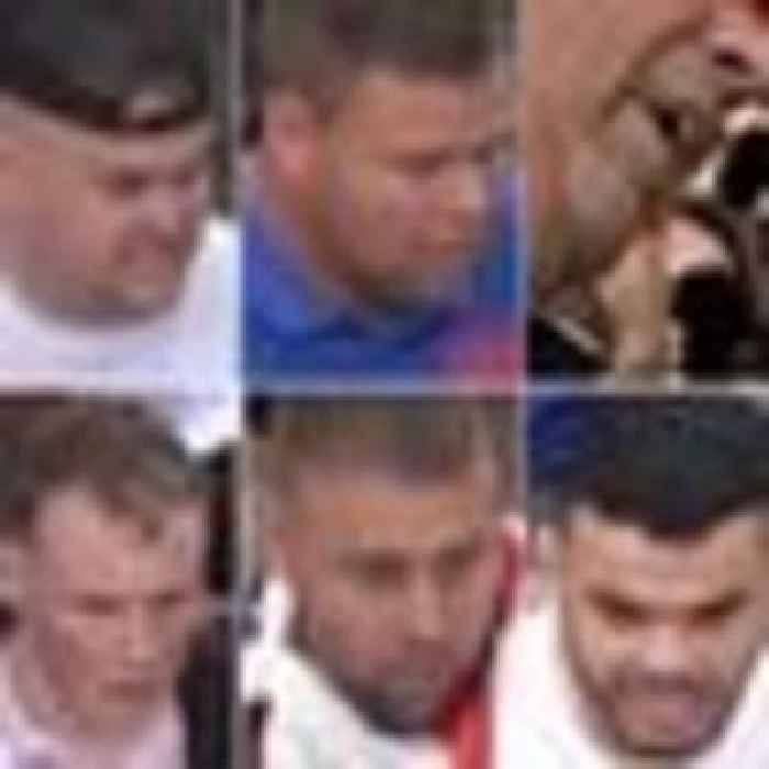 Wanted: 10 men police are tracing over unrest at Euro 2020 final