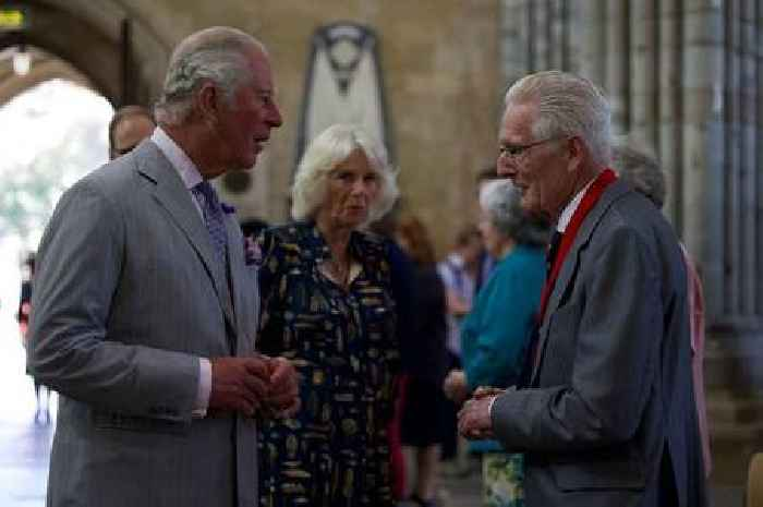 No face masks for Charles and Camilla during royal visit