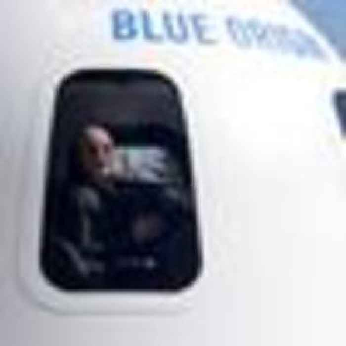 'I'm not nervous, I'm excited': Jeff Bezos ready for flight to edge of space