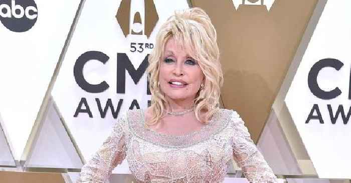 Dolly Parton Recreates Playboy Cover Shoot For Husband's Birthday, Says 'He Still Thinks I'm A Hot Chick'