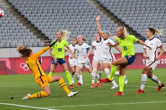 Sweden batter US women's football team in major Tokyo Olympics upset
