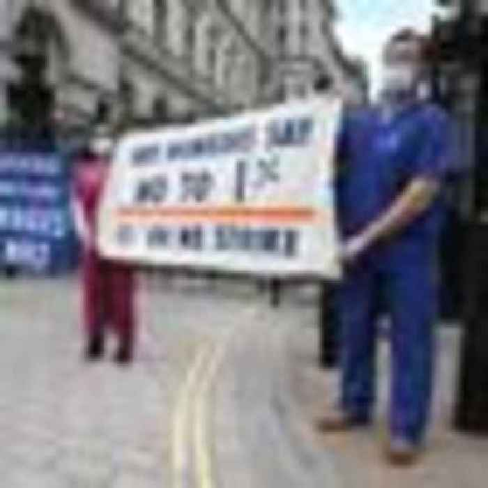 Anger as government fails to announce expected NHS pay rise before MPs go on summer break
