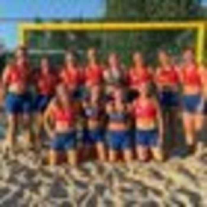 Norway's beach handball team fined for wearing shorts not bikini bottoms