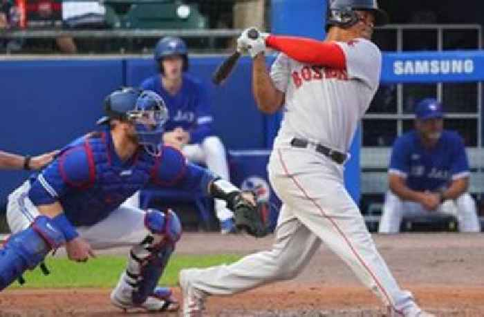 Red Sox ride five home runs to 7-4 win over Blue Jays