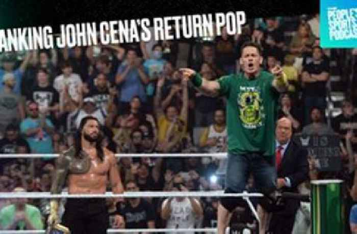 Where does John Cena's return rank? Ryan Satin offers perspective | People's Sports Podcast