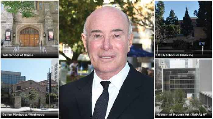 Inside Hollywood's Billionaire Donor Class and David Geffen's $150 Million Gift to Yale