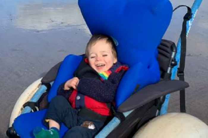Tot 'one of only six in Scotland' battling rare disorder leaving him immobile