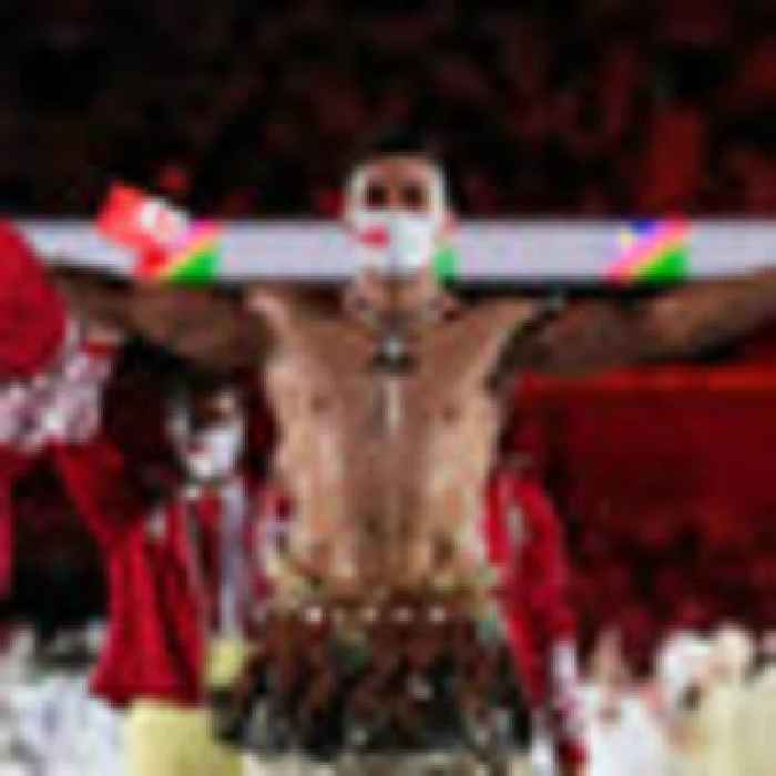 Tokyo Olympics 2020: Tongan flag-bearer Pita Taufatofua makes waves once again in opening ceremony