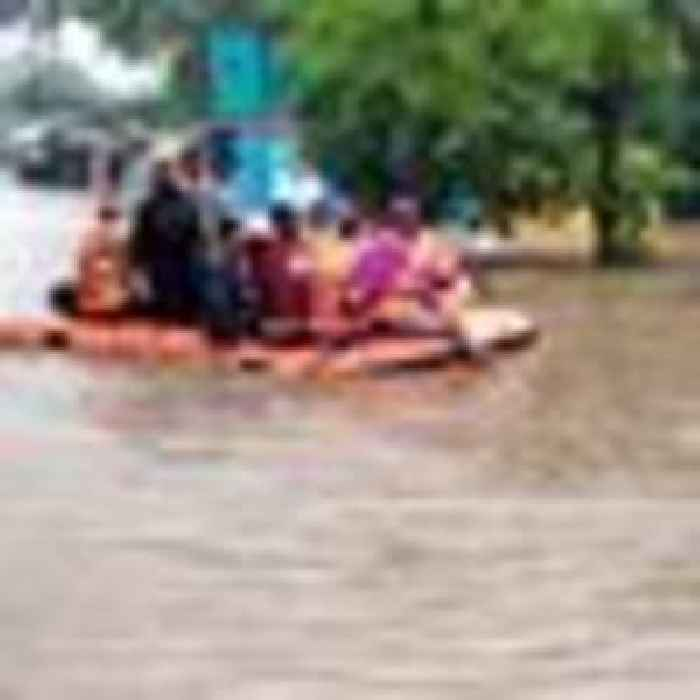 At least 125 dead after torrential rain triggers floods and landslides in India