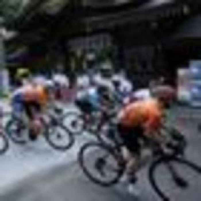 Tokyo Olympics: Fans defy warnings from Games organisers by lining the streets to cheer on road race riders