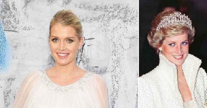 Princess Diana's Niece Lady Kitty Spencer Marries Billionaire Fashion Mogul Michael Lewis In Italian Ceremony