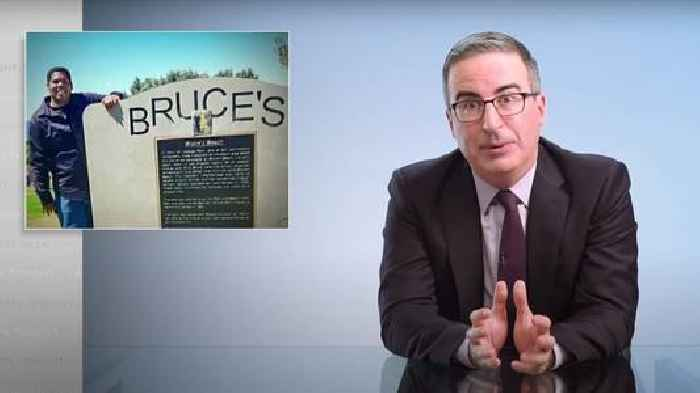 John Oliver Argues for Reparations for Black Americans With LA's Manhattan Beach Case (Video)